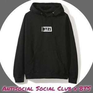 a49fe5f668323 Anti Social Social Club Tops - ASSC x BTS BT21 Signature Line Friends Hoodie